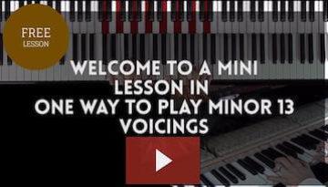 Minor 13 voicings thumbnail