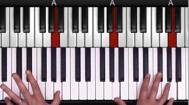 Latin Jazz Piano Open Chord example