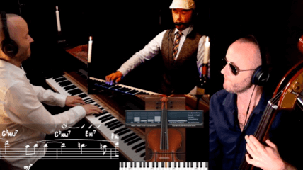 The BAH brothers plays bolero jazz piano
